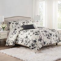 Isaac Mizrahi Home Lilla Queen Comforter Set in Sepia