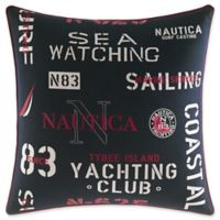 Nautica® Heritage Square Throw Pillow in Navy