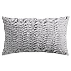 Isaac Mizrahi Home Whitby Oblong Throw Pillow in Grey