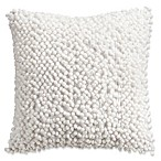 Isaac Mizrahi Home Whitby Square Throw Pillow in White