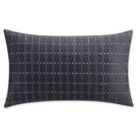 Isaac Mizrahi Home Lilla Oblong Throw Pillow in Grey