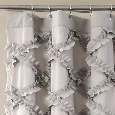 Attirant Product Image For Lush Decor 72 Inch X 72 Inch Ruffle Diamond Shower Curtain