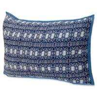 Amrita Sen Cotton Voile Standard Pillow Sham in Blue