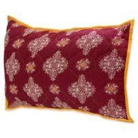 Amrita Sen Cotton Voile Standard Pillow Sham in Red