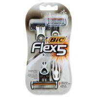 BIC® Flex 5™ 2-Count Men's Disposable Razor