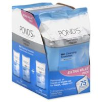 Pond's® 75-Count Original Fresh Wet Cleansing Towelettes