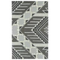 Kaleen Lakota Winona 3-Foot 6-Inch x 5-Foot 6-Inch Area Rug in Grey