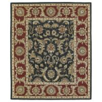 Solomon King 2-Foot x 3-Foot Accent Rug in Graphite