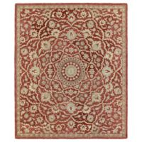 Solomon Nehemiah 2-Foot x 3-Foot Accent Rug in Red