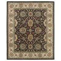 Solomon Elijah 2-Foot x 3-Foot Accent Rug in Brown