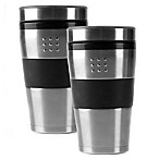 BergHOFF® 16 oz. Orion Travel Mugs in Silver (Set of 2)