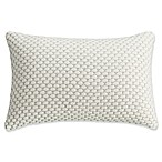 Bridge Street Somerset Knit Oblong Throw Pillow in Ivory