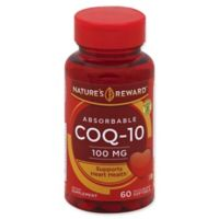 Nature's Reward™ 60-Count 100 mg Absorbable CoQ-10 Quick Release Softgels