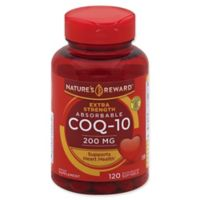 Nature's Reward™ 120-Count 200 mg Extra Strength Absorbable CoQ-10 Quick Release Softgels