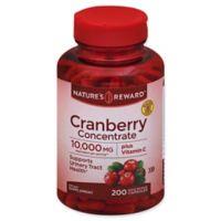 Nature's Reward™ 200-Count Cranberry Concentrate Plus Vitamin C Quick Release Capsules