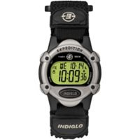 Timex® Expedition® Unisex 34mm Mid-Size CAT Digital Watch with Black FastWrap® Strap