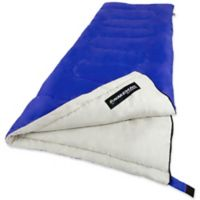 Wakeman Outdoors 2-Season Sleeping Bag in Blue