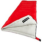 Wakeman Outdoors 2-Season Sleeping Bag in Red