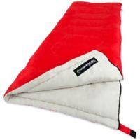Wakeman Outdoors 2-Season Sleeping Bag in Red