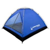 Wakeman Outdoors 2-Person Dome Tent in Grey/Blue