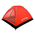 Wakeman Outdoors 2-Person Dome Tent in Grey/Red