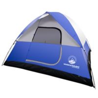 Wakeman Outdoors 6-Person Dome Tent in Blue