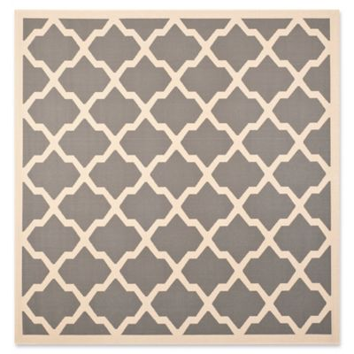 safavieh evie 7foot 10inch square area rug in anthracite - Safavieh Rug