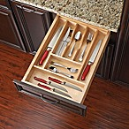 Rev-A-Shelf - 4WCT-1SH - 22-Inch x 14.62-Inch Small Wood Cutlery Drawer Insert
