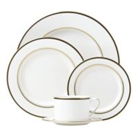 kate spade new york Library Lane Black™ 5-Piece Place Setting