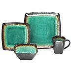Baum Zen 16-Piece Dinnerware Set in Jade