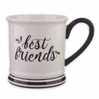 "Formations ""Best Friends"" Mug in Black/White"