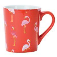 Boston Warehouse® Pink Flamingos Mug