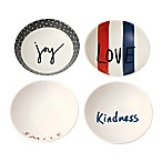 "ED Ellen DeGeneres Crafted by Royal Doulton® ""Joy""5.5-Inch Bowls (Set of 4)"