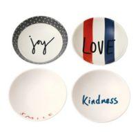 "ED Ellen DeGeneres Crafted by Royal Doulton® ""Joy""5.5-Inch Bowls (Set of 4)"