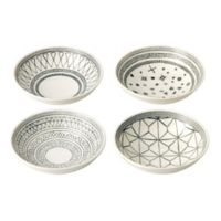 ED Ellen DeGeneres Crafted by Royal Doulton® Grey Lines 5.5-Inch Bowls (Set of 4)