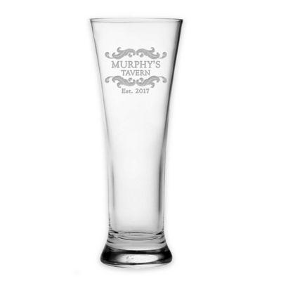susquehanna glass tavern pilsner glasses set of 4 - Glass Beer Mugs
