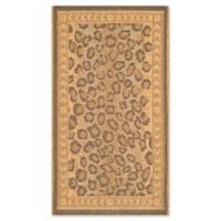 Safavieh Courtyard 2-Foot x 3-Foot 7-Inch Nadia Indoor/Outdoor Rug in Natural/Gold