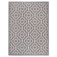 Safavieh Courtyard 8-Foot x 11-Foot Ansley Indoor/Outdoor Rug in Anthracite/Beige