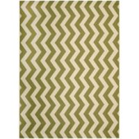 Safavieh Courtyard Abby 8-Foot x 11-Foot Indoor/Outdoor Area Rug in Green/Beige