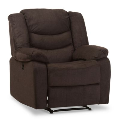 Baxton Studio Lynette Power Recliner Chair in Brown  sc 1 st  Bed Bath u0026 Beyond & Buy Comfortable Recliner Chairs from Bed Bath u0026 Beyond islam-shia.org