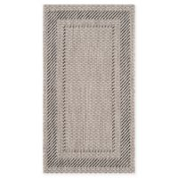 Safavieh Courtyard 2-Foot 7-Inch x 5-Foot Kenia Indoor/Outdoor Rug in Beige/Black