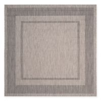 Safavieh Courtyard Kenia Indoor/Outdoor Rug in Beige/Black
