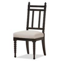 Baxton Studio Heather Dining Chair in Beige/Black