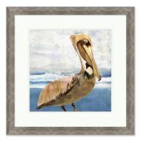 """Pelican Portrait 1"" 28-Inch x 28-Inch Print Wall Art"