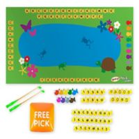 Teach My Yoga Mat Set™ Fish and Learn in Blue