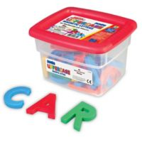 Educational Insights® AlphaMagnets® 42-Piece Multicolor Jumbo Uppercase Magnetic Letters