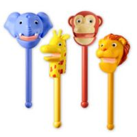 Educational Insights® 9-Piece Puppet-on-a-Stick Zoo Crew