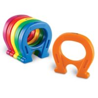 Learning Resources® Primary Science 12-Piece Horseshoe-Shaped Magnets