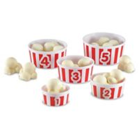 Learning Resources® Smart Snacks® 20-Piece Count 'Em Up Popcorn Set