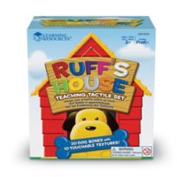 Learning Resources® 23-Piece Ruff's House Teaching Tactile Set